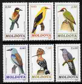 Moldova 1992 Birds perf set of 6 unmounted mint SG 19-24