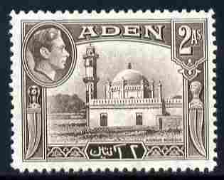 Aden 1939-48 KG6 Airdrus Mosque 2a sepia unmounted mint SG 20