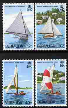 Bermuda 1983 Fitted Dinghies set of 4 unmounted mint, SG 461-64
