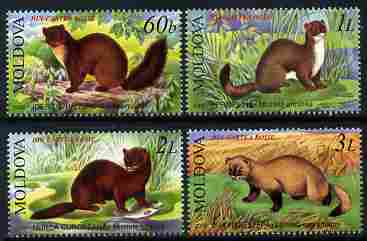Moldova 2006 Animals perf set of 4 unmounted mint, SG 551-4, stamps on animals