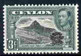 Ceylon 1938-49 KG6 Adam