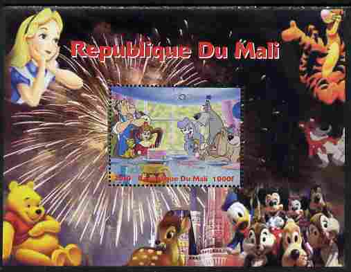 Mali 2010 Disney Characters with Olympic Rings #3 perf s/sheet unmounted mint. Note this item is privately produced and is offered purely on its thematic appeal
