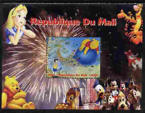 Mali 2010 Disney Characters with Olympic Rings #6 perf s/sheet unmounted mint. Note this item is privately produced and is offered purely on its thematic appeal