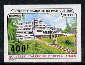 New Caledonia 1988 French University of South Pacific imperf from limited printing, as SG 824*