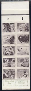 Booklet - United States 1981 Wildlife booklet complete and very fine, SG SB 110