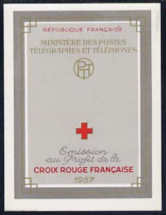 Booklet - France 1957 Red Cross Booklet complete and very fine, SG XSB7, Yv 2006