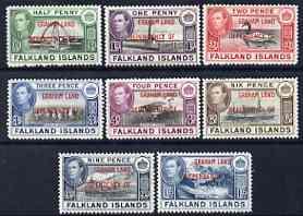 Falkland Islands Dependencies - Graham Land 1944 KG6 opt