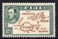 Fiji 1938-55 KG6 2d P13.5 (die I without 180) mounted mint SG 253