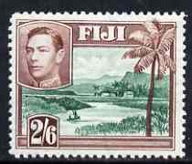 Fiji 1938-55 KG6 2s6d mounted mint SG 265
