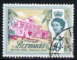 Bermuda 1962-68 QE2 Old Post Office 10s definitive fine used, SG 178