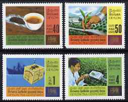 Ceylon 1967 Centenary of Ceylon Tea Industry set of 4 unmounted mint, SG 526-29