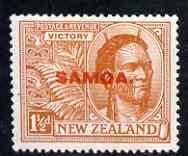 Samoa 1920 Victory 1.5d mtd mint SG 145
