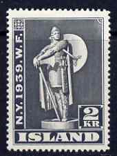 Iceland 1939 World