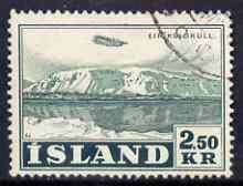 Iceland 1947-52 Air 2k50 fine used SG 277