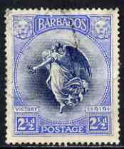 Barbados 1920-21 Victory MCA 2.5d used SG 205