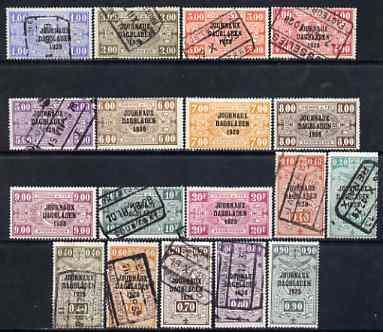 Belgium 1928 Newspaper Stamps