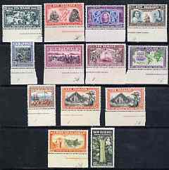 New Zealand 1940 Centenary set of 13 complete unmounted mint, SG 613-25