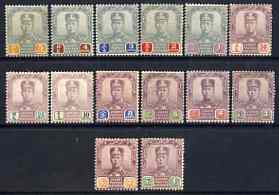 Malaya - Johore 1904 Sultan set to $5, SG 61-74 mainly fine mounted mint cat \A3235