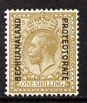 Bechuanaland 1925-27 KG5 overprint on Great Britain 1s unmounted mint, SG 98