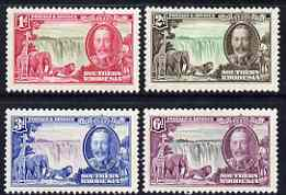 Southern Rhodesia 1935 KG5 Silver Jubilee set of 4 lightly mounted SG 31-34