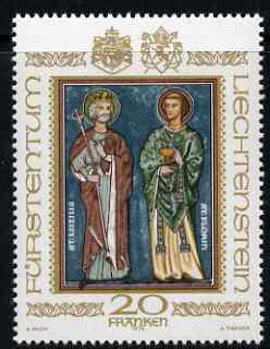 Liechtenstein 1979 Patron Saints 20f unmounted mint SG 731