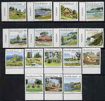 Norfolk Island 1987 Norfolk Island Scenes complete set of 16 unmounted mint, SG 405-420 cat \A322