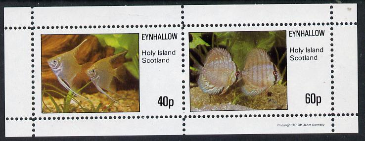 Eynhallow 1981 Tropical Fish perf  set of 2 values (40p & 60p) unmounted mint