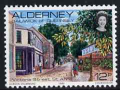 Guernsey - Alderney 1983-93 Victoria St, St Anne 12p unmounted mint SG A6