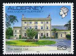 Guernsey - Alderney 1983-93 Island Hall 23p unmounted mint SG A12c