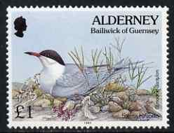 Guernsey - Alderney 1994-98 Flora & Fauna Defs \A31 Tern & Grass unmounted mint SG A76
