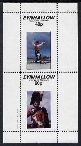 Eynhallow 1982 Scottish National Dress perf set of 2 unmounted mint