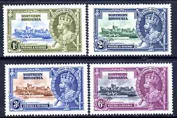 Northern Rhodesia 1935 KG5 Silver Jubilee set of 4, mounted mint SG 18-21