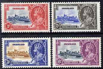 Swaziland 1935 KG5 Silver Jubilee set of 4, mounted mint SG 21-4