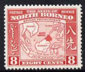 North Borneo 1939 Eastern Archipelago 8c (from def set) lightly mounted mint, SG 308