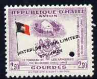 Haiti 1954 Restoration of Christophe