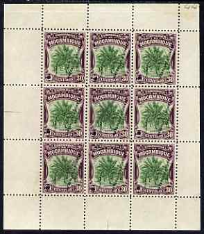 Mozambique Company 1918-24 Coconut Palm 30c perf 12.5 printer