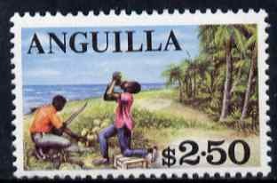 Anguilla 1967 Local Scene $2.50 (from def set) unmounted mint SG 30