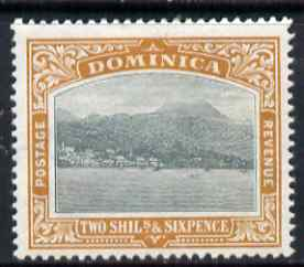 Dominica 1903-07 Roseau Crown CC 2s6d very lighly mounted mint SG 35