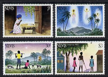 Nevis 1983 Christmas set of 4 unmounted mint (SG 127-30)