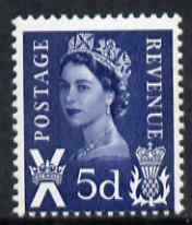 Great Britain Regionals - Scotland 1967-70 Wilding 5d royal blue no wmk unmounted mint SG S11