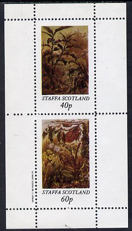 Staffa 1982 Insects perf  set of 2 values (40p & 60p) unmounted mint