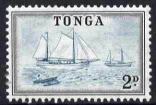 Tonga 1953 Ketches 2d unmounted mint SG 103