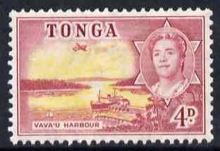 Tonga 1953 Vava'u Harbour 4d unmounted mint SG 106