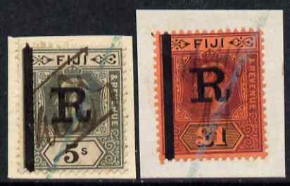 Fiji KE7 �1 & 5s opt