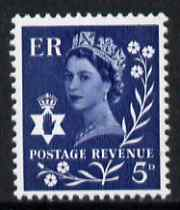 Great Britain Regionals - Northern Ireland 1968-69 Wilding 5d royal blue no wmk unmounted mint SG NI10