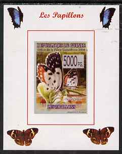 Guinea - Conakry 2008 Butterflies #6 individual imperf deluxe sheet unmounted mint. Note this item is privately produced and is offered purely on its thematic appeal