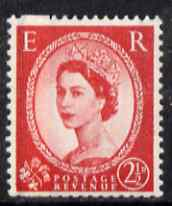 Great Britain 1958-61 Wilding Crowns graphite 2.5d unmounted mint SG591