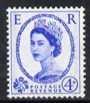 Great Britain 1959 Wilding Phosphor-graphite 4d unmounted mint SG608
