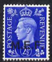 British Occupations of Italian Colonies - MEF 1942 KG6 2.5d ultramarine unmounted mint SG M3