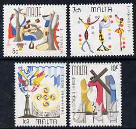 Malta 1976 Folklore set of 4 unmounted mint, SG 555-8